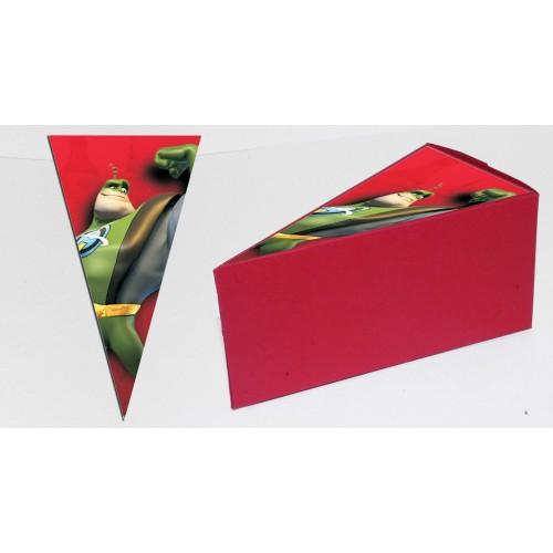 Парченце от Хартиена  торта с украса по избор Модел 30242