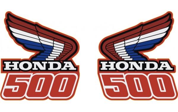 Стикер HONDA лого 500 модел 22009