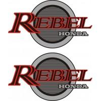 Стикер HONDA CA Rebel 250 1984 комплект модел 22037
