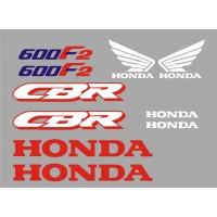 Стикери за HONDA CBR 600 F 91-1994 г. модел 22070
