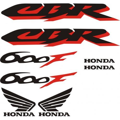 Стикери за HONDA CBR 600 F 2001 г. модел 22080