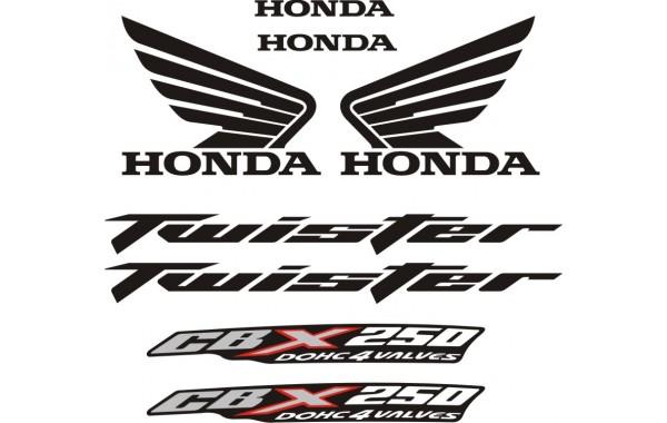 Стикери за HONDA CB X 250 Twister 2009 г. модел 22095