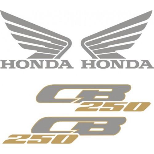 Стикери за HONDA CB 250 2001 модел 22100