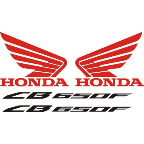 Стикери за HONDA CB 650 F  2014г. модел 22125