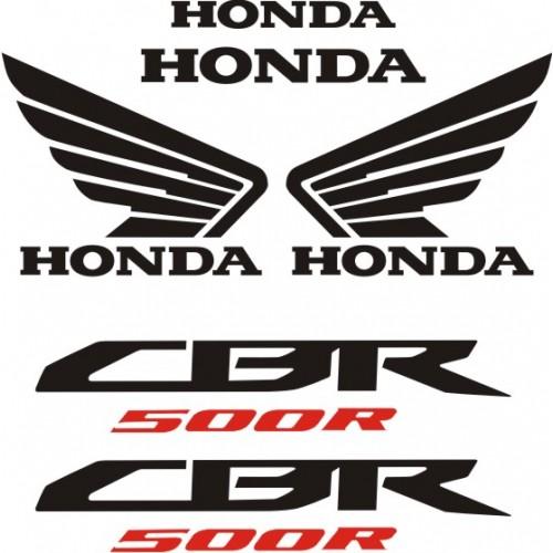 Стикери за HONDA CBR 500 R  2013 г. модел 22137