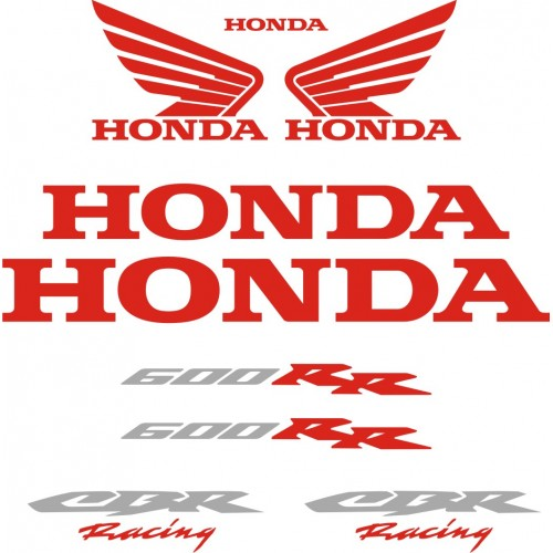 Стикери за HONDA CBR 600RR Racing 05-2006 г. модел 22141