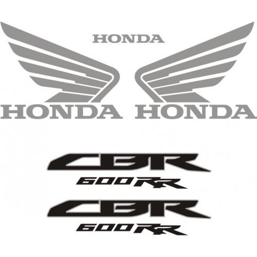 Стикери за HONDA CBR 600RR 09-2012 г. модел 22148