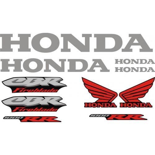 Стикери за HONDA CBR 1000RR Fireblade 2005 г. модел 22152