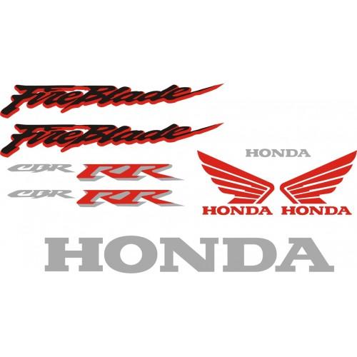 Стикери за HONDA CBR 929 RR Fireblade 2001 г. модел 22164