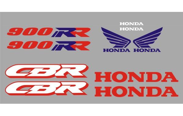 Стикери за HONDA CBR 900 RR 1994 г. модел 22166