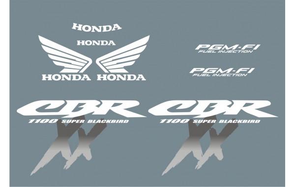 Стикери за HONDA CBR 1100 Super Blackbird 00-2004 г. модел 22193