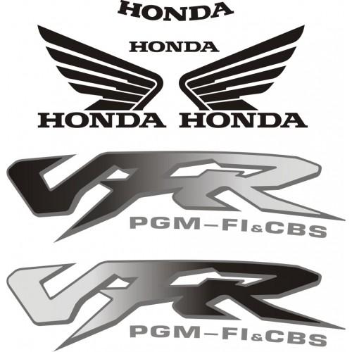Стикери за HONDA VFR 800 FI 98-2001 г. модел 22246