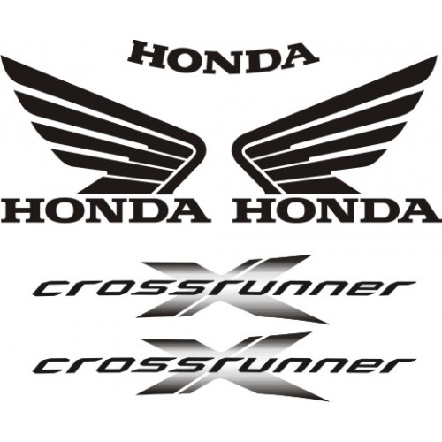 Стикери за HONDA VFR 800 X 11-2013 г. модел 22248
