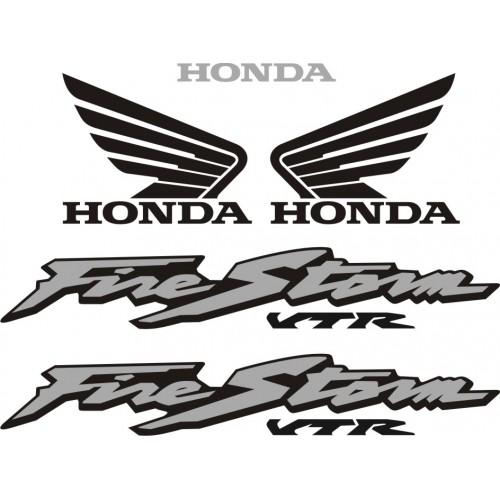 Стикери за HONDA VTR 1000 F Fire Storm модел 22276