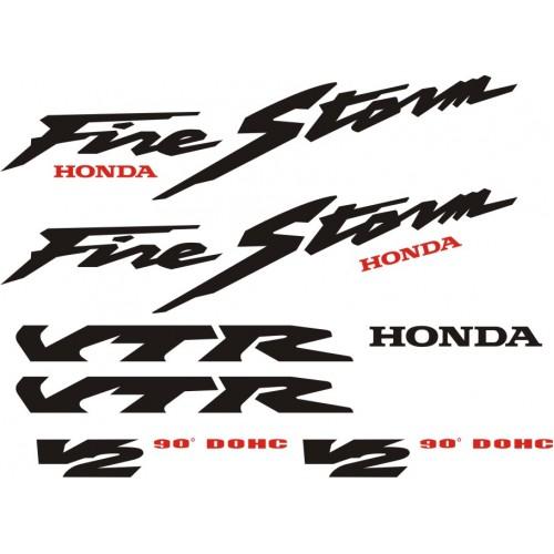 Стикери за HONDA VTR 1000 F Fire Storm 98-2005 модел 22277