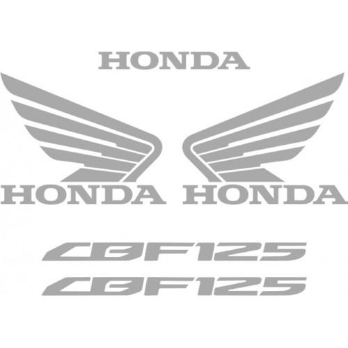 Стикери за HONDA CBF 125 2009г. модел 22382
