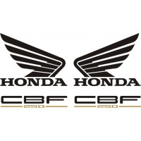 Стикери за HONDA CBF 250 2004г. модел 22385