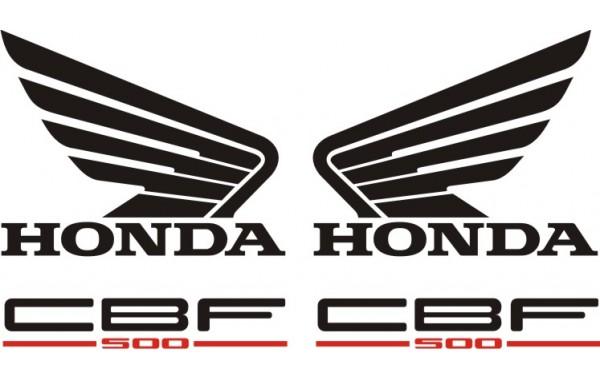 Стикери за HONDA CBF 500 N 2004г. модел 22387
