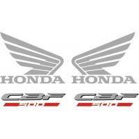 Стикери за HONDA CBF 500 N 2008г. модел 22389