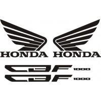 Стикери за HONDA CBF 1000 F 2010г. модел 22397