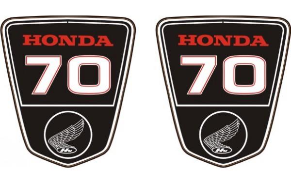 Стикер за HONDA DAX ST-70 комплект модел 22414