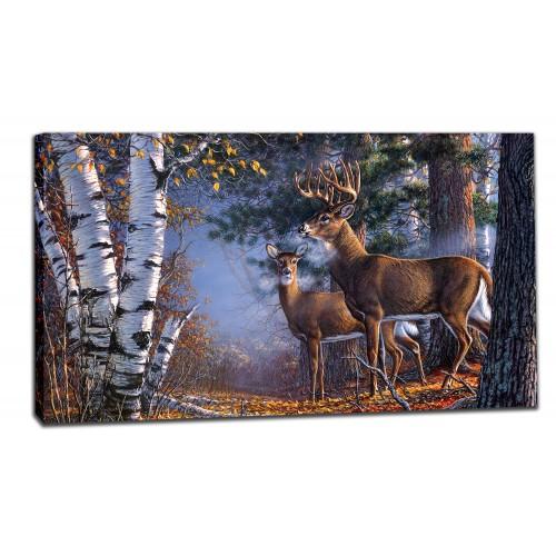 Картина от канава Модел 14010 елен
