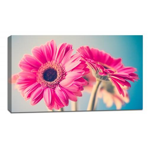Картина от канава Модел 14057 цвете