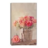 Картина от канава Модел 14067 рози