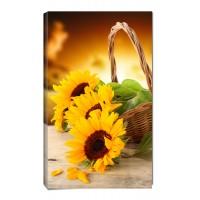 Картина от канава Модел 14068 слънчогледи