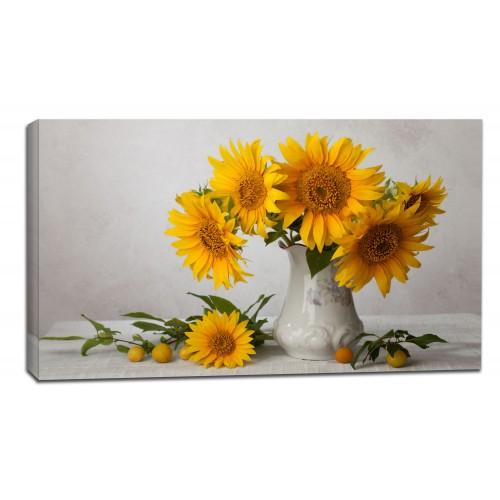 Картина от канава Модел 14073 слънчогледи