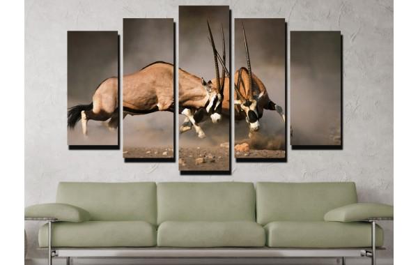 Декоративни панели и картини от канава Модел 13 040 антилопа