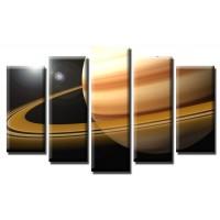 Декоративни панели и картини от канава Модел 13 449 планета пет части