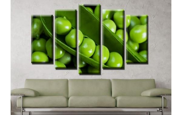 Декоративни панели и картини от канава Модел 13 595 грах пет части