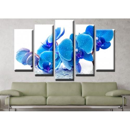 Декоративни панели и картини от канава Модел 13 655 орхидея
