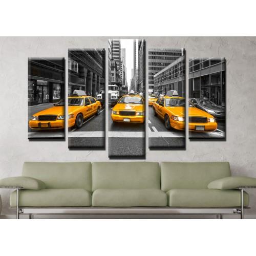 Декоративни панели и картини от канава Модел 13 658 такси