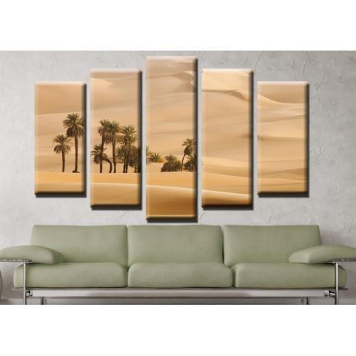 Декоративни панели и картини от канава Модел 13 662 оазис