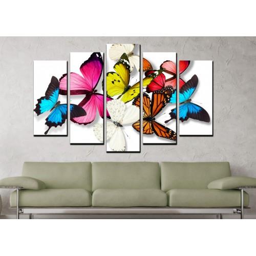 Декоративни панели и картини от канава Модел 13 684 пеперуди