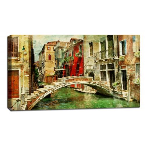 Картина от канава Модел 14017 град