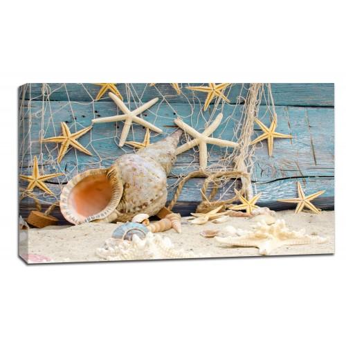 Картина от канава Модел 14019 морски звезди