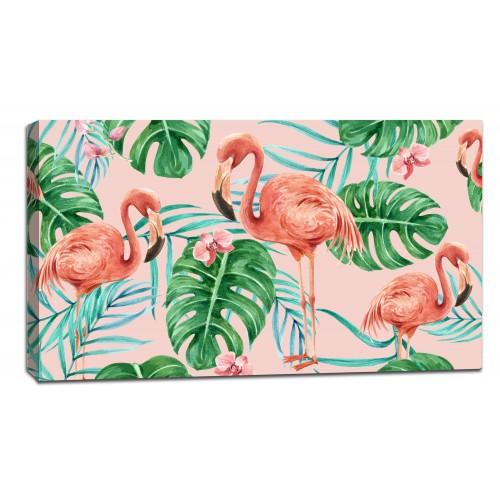 Картина от канава Модел 14020 фламинго