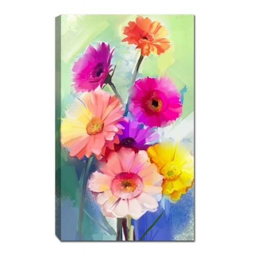 Картина от канава Модел 14022 цветя