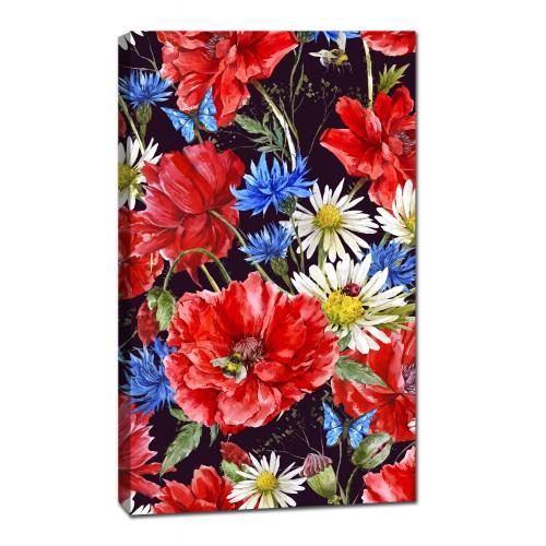 Картина от канава Модел 14023 цветя