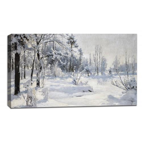 Картина от канава Модел 14028 зима