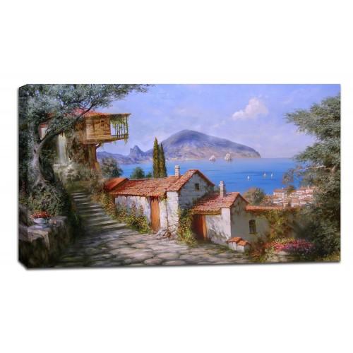 Картина от канава Модел 14038 залив