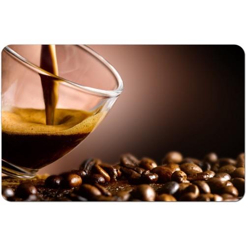 Подложки за хранене  многократна употреба модел 19786 кафе