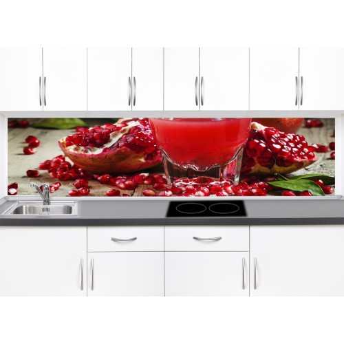 Принт стъкло за кухня модел 19030 сок