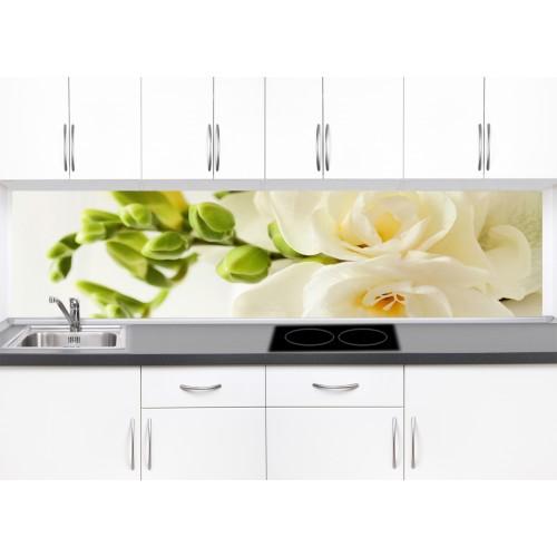 Принт стъкло за кухня модел 19033 рози