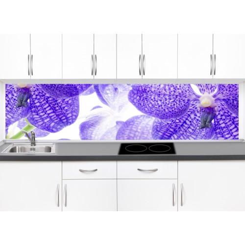 Принт стъкло за кухня модел 19056 цвете