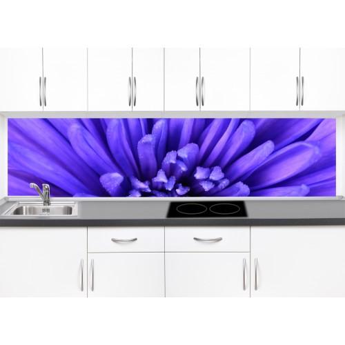 Принт стъкло за кухня модел 19058 цвете