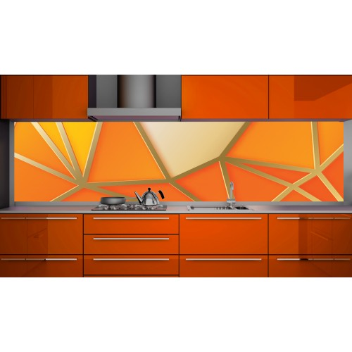 Принт стъкло за кухня модел 19143